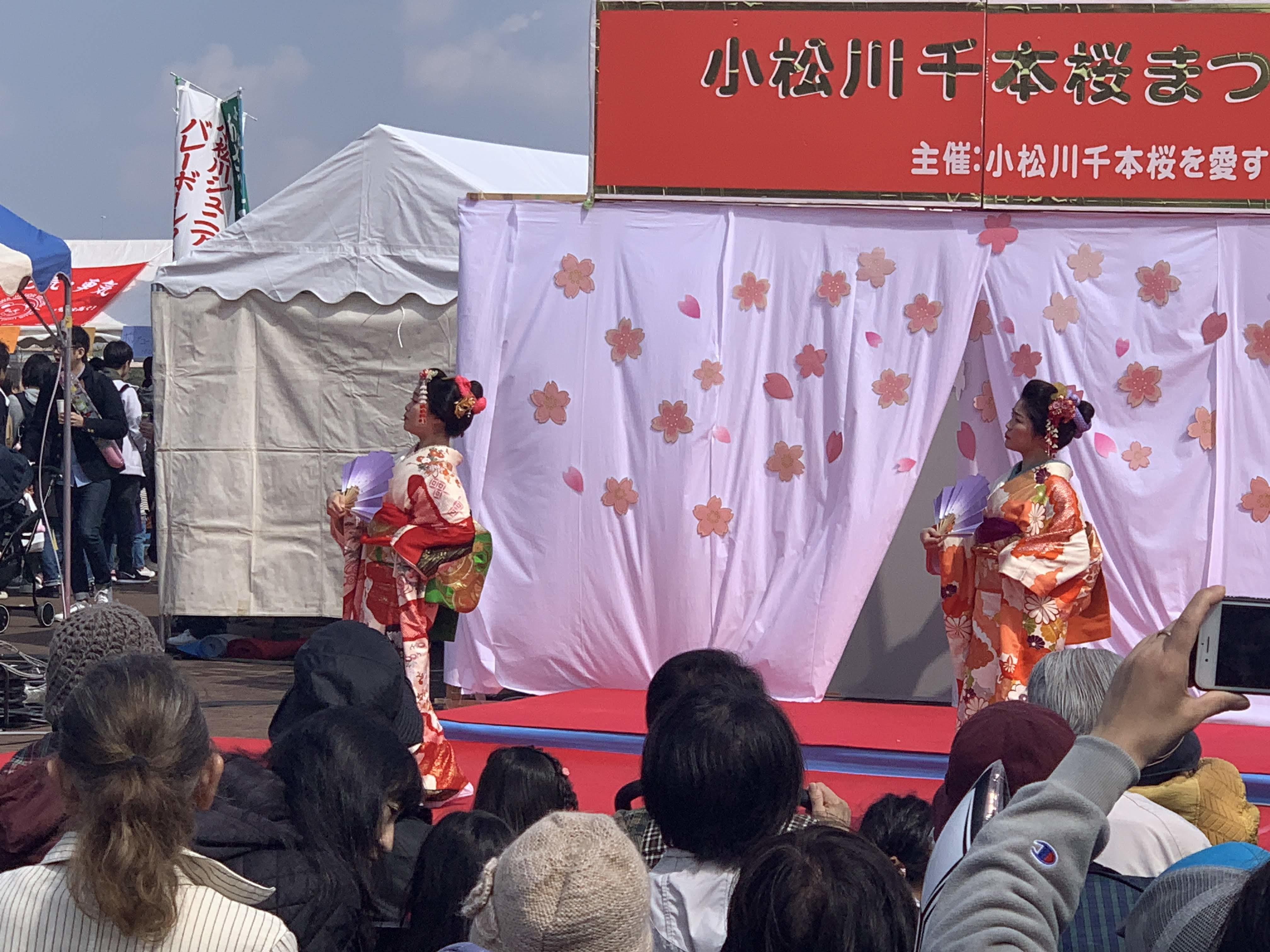 小松川千本桜まつりの様子01